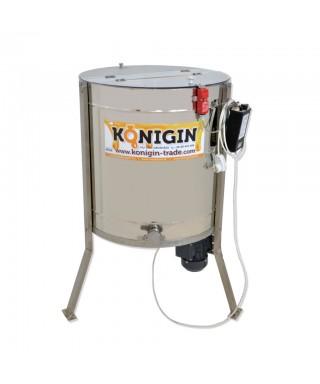 Extracteur 4 cadres, KONIGIN tangentiel  motorisé, existe pour tous types de cadres