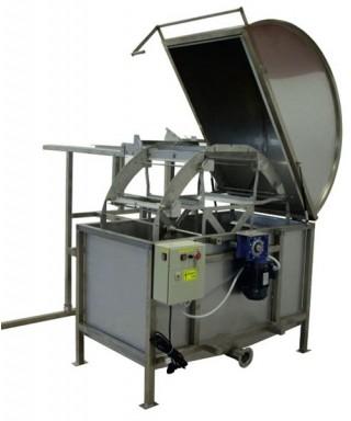 Extracteur horizontal 48 cadres de hauteur : 27-33 cm, avec rampes de sortie