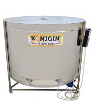 Extracteur Konigin 54 cadres, hauteur cadres: 19-28 cm, radiaire, motorisé