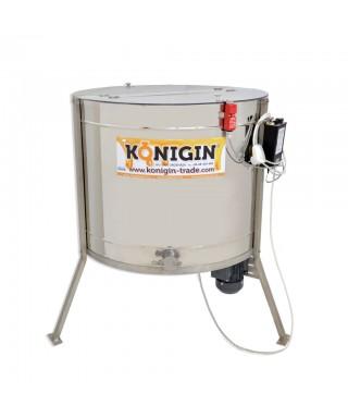 Extracteur Konigin, 16 cadres,hauteur cadres: 24-30 cm,  extracteur radiaire, motorisé