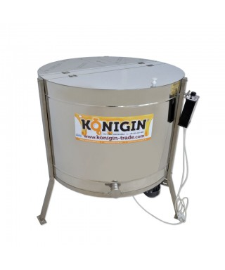 Extracteur Konigin 24 cadres, hauteur cadres: 24-30 cm, radiaire, motorisé