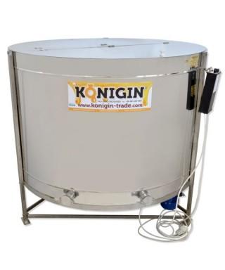 Extracteur Konigin66 cadres, hauteur cadres: 14-18 cm, radial, motorisé