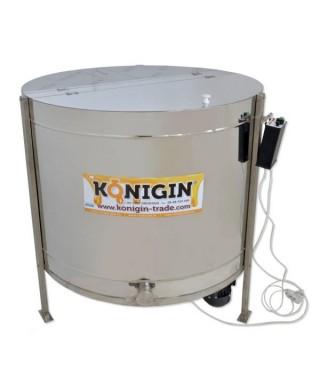 Extracteur Konigin, 10 cadres de hauteur : 19-23 cm(lh), auto-réversible, motorisé