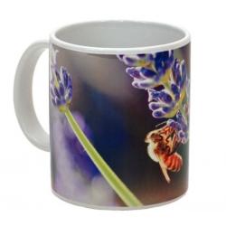 MUG céramique abeilles lavande