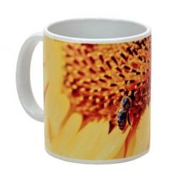 MUG céramique abeilles tournesol