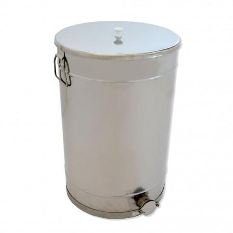 Maturateur à miel, 50 kg, avec couvercle inox, poignées