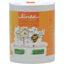 Peinture bio pour ruche bidon de 1 litre - GRIS Alu