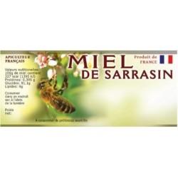 100 etiquettes 116 x 50 de  sarrasin