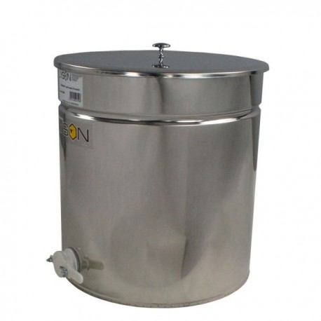 Maturateur inox  OPTIMA 270kg - 200l - Robinet Plastique