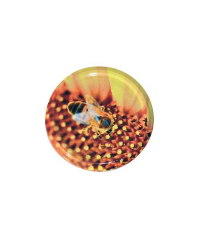 Capsule to 82 fleur jaune le sachet de 100